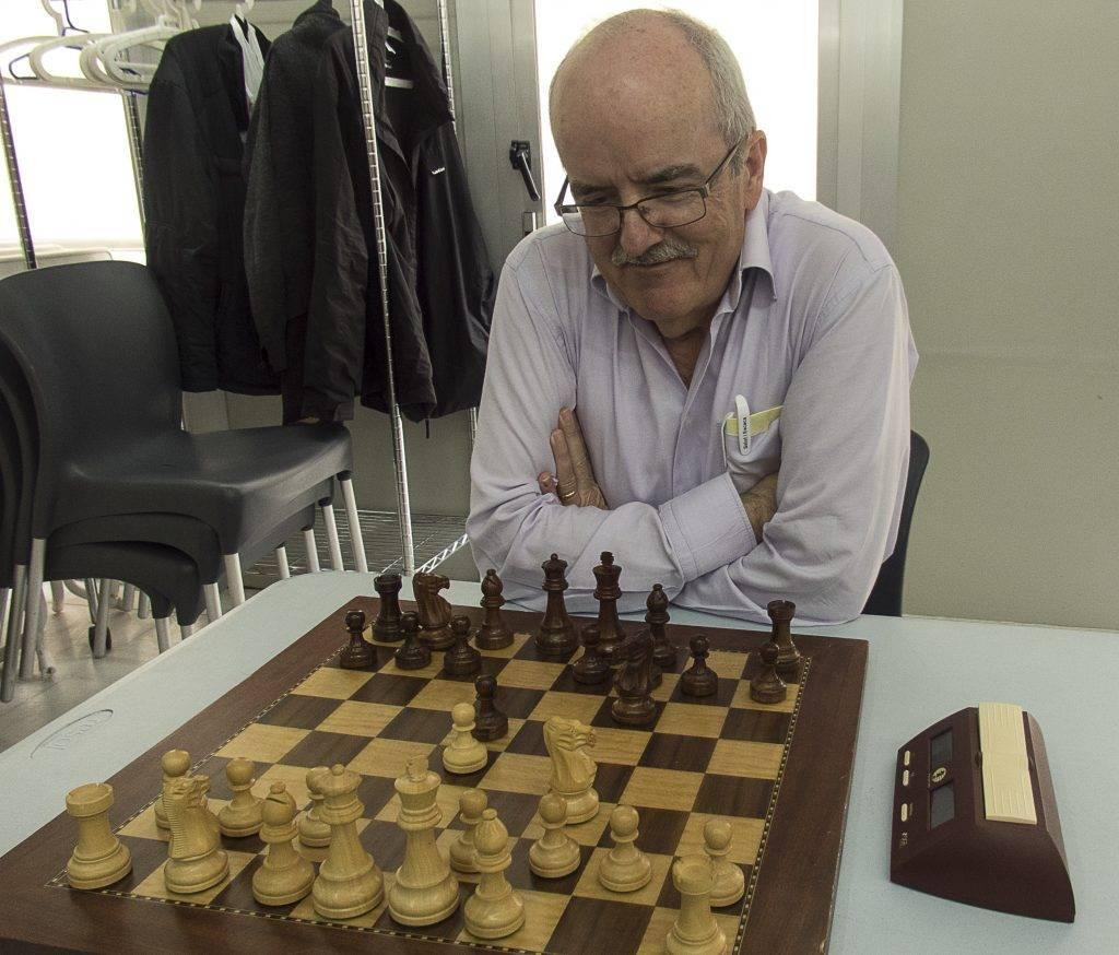 L'artista convidat va ser en Josep Maria Teixidor, habitual del segon equip. (Foto: Jordi Vidal)