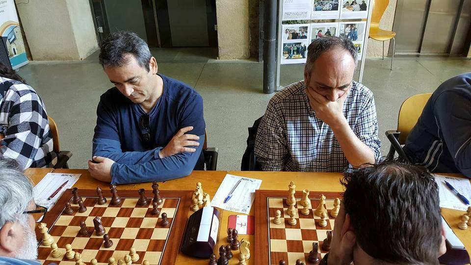 En Jordi Barraca i jo. (Foto: Jordi Sabrià)
