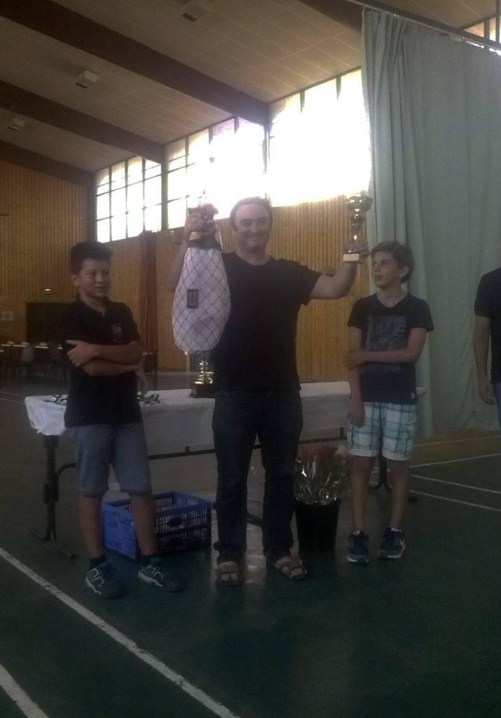 El campió, en Jordi Barraca