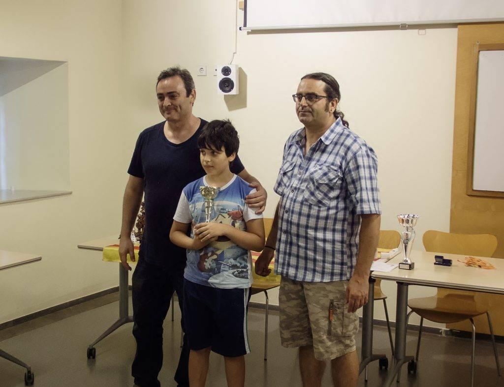El jove Enric Barraca ha estat molt actiu aquesta temporada (Foto: J.A.)